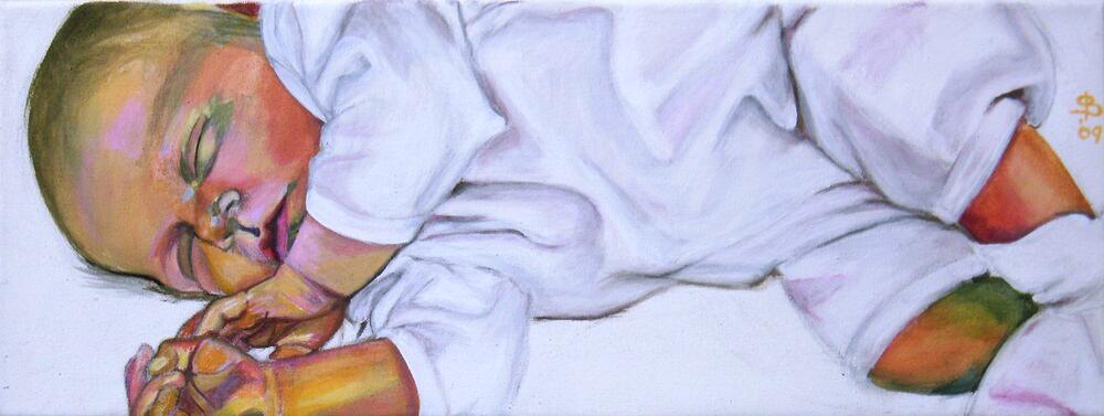 Säuglingsportrait von Stephanie Bahrke