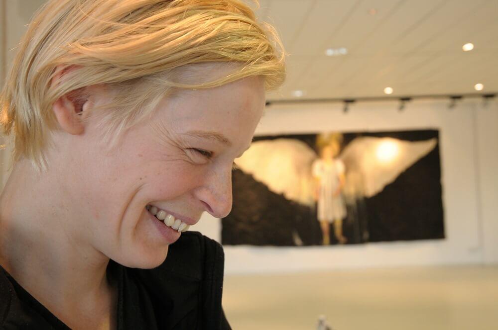 Die Schauspielerin Jana Schulz