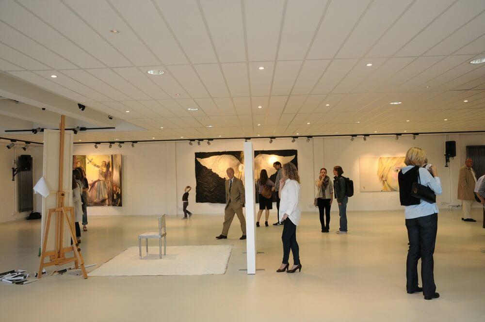 """Blick in die Ausstellung """"Wer ist die Schulz"""" in der Fabrik der Künste"""
